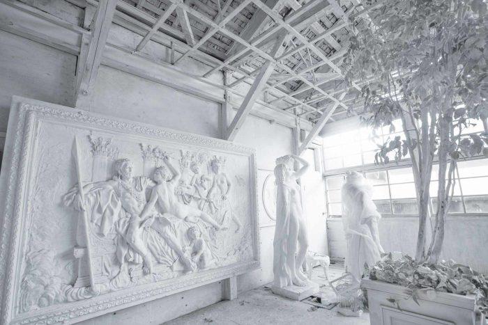 白廃墟[彫刻]
